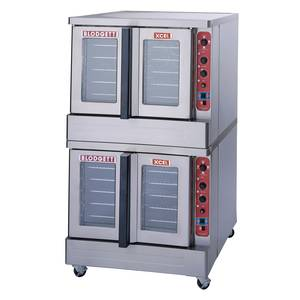 Blodgett DFG-100 XCEL DOUBLE Dual Flow XCEL Series Double Deck Gas Convection Oven