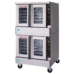 Blodgett Full Size Double Deck Electric Convection Oven - MARK V DOUBLE