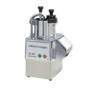 Robot Coupe Commercial Food Processor Metal Base w/ Removable Catch Pan - CL50 GOURMET