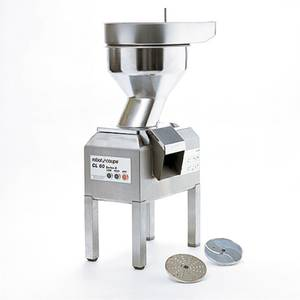 Robot Coupe Stainless Vegetable Food Processor w/ 2 Disc & 1 Disc Rack - CL60 BULK W/STAND