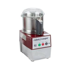 Robot Coupe R2N ULTRA B 3 Quart Stainless Food Cutter Mixer 1HP w/ Stainless S Blade