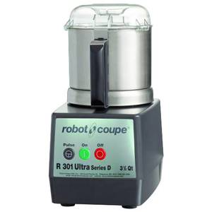 Robot Coupe R301 ULTRA B 3.5 Qt S/s Commercial Food Cutter Mixer 1.5 HP w/ S Blade