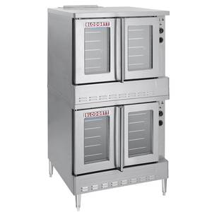 Blodgett SHO-100-G DOUBLE Standard Full Size Double Deck Gas Convection Oven