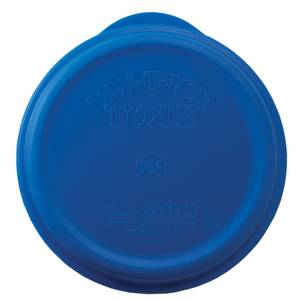 San Jamar Blue Ice Tote Cover Lid - SI6500