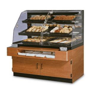 Federal 54 Non-Refrigerated Bakery Display Merchandiser Self-Serve - BPFD-54SS