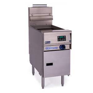 Pitco 12 Gal. Solstice Supreme Gas Pasta Cooker - SSPG14