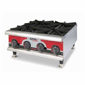 APW Wyott Champion 24 Natural Gas Hot Plate Manual w/ 4 Burners - GHP-4H