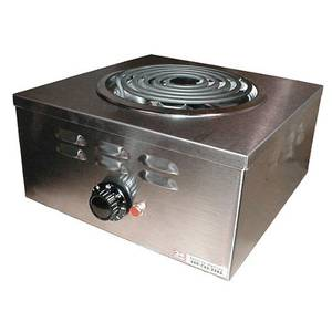 APW Wyott Champion 1 Burner Portable Electric Hot Plate - CHP-1A