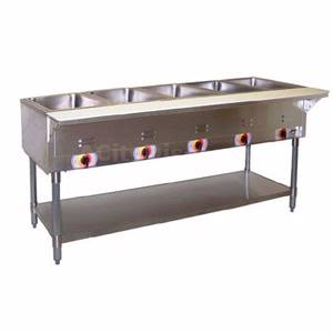 APW Wyott SST-4-208 Champion 4 Sealed Well Electric Steam Table 208v