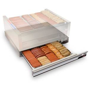 APW Wyott X*PERT 30.25 Stainless Hot Dog Thermo Drawer 700 Watts - SPTU-50N