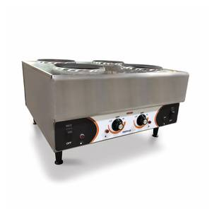 Nemco Raised Four Burner Electric Range / Hot Plate - 240v/1ph - 6311-2-240