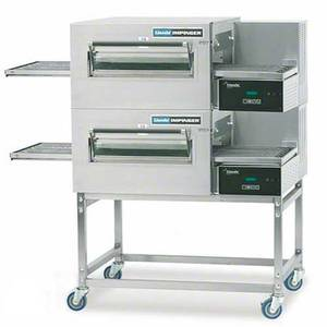 Lincoln 56 Electric Digital Double Stack Conveyor Oven Package - 1180-2E