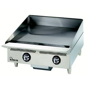 Star Ultra-Max Countertop 24in Gas Snap Action Griddle - 824TSA