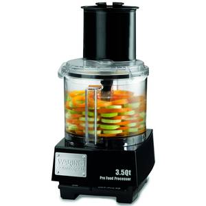 Waring WFP14S 3.5 Quart Food Processor 1 HP with S-Blade & Discs