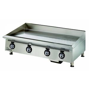 Star 848MA Ultra-Max Countertop 48in Manual Control Gas Griddle