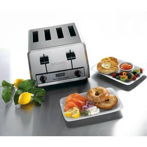 Waring Heavy Duty 4 Slot Toaster 300 Slices/hr 2200W - WCT800