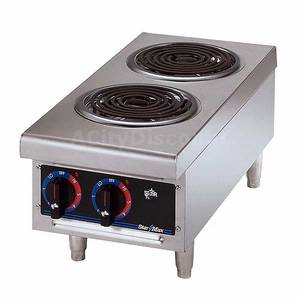502D Star-Max 2 Coil Burner Countertop Electric Hot Plate