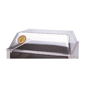 APW Wyott 35.5 x 19.5 Hot Dog Grill Sneeze Guard Polycarbonate - SG-50