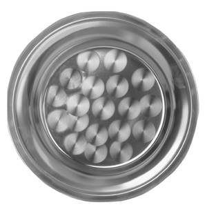 Thunder Group 18 Round Serving Tray Stainless - SLCT018