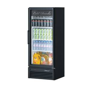 Turbo Air 11.3cf Glass Merchandiser Cooler With 1 Swing Door - TGM-12SD