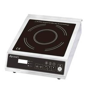 Adcraft Countertop 120 V Full Size Electric Induction Hot Plate - IND-B120V
