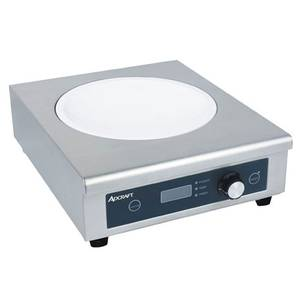 Adcraft Countertop Electric Wok-Size Induction Hot Plate 120V - IND-WOK120V
