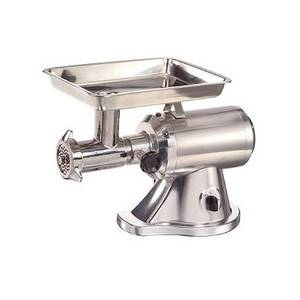 Adcraft MG-1.5 Electric 1.5 HP Meat Grinder Aluminum with #22 Head