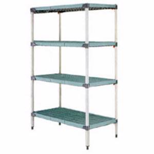 MetroMax Q Starter 18 x 30 x 63 Shelving Unit Epoxy Coat - Q326G3