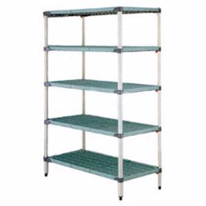 MetroMax Q Starter 24 x 42 x 74 Shelving Unit Epoxy Coat - 5Q547G3