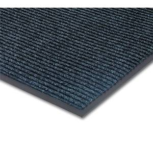 APEX Foodservice Mats 4457-902 3' x 5' Bristol Ridge Foot Scraper Floor Mat - Blue