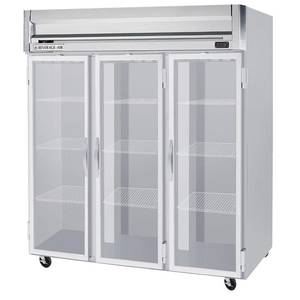 Beverage-Air 74 CuFt Horizon Spec Series Glass 6-Door Reach-In Cooler - HRPS3-1HG
