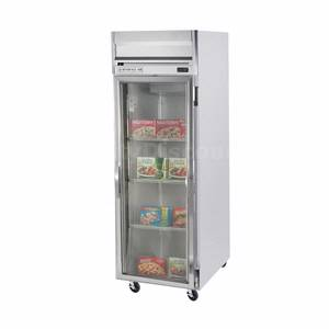 Beverage-Air HFS1-1G 24 CuFt Horizon Glass Door Reach-In Freezer w/ S/S Interior