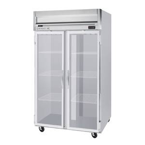 Beverage-Air HF2-1G 49 CuFt Standard Horizon Series Glass Door Reach-In Freezer