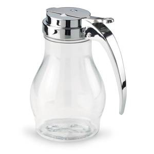 Vollrath 16oz Clear Syrup Pourer - 1214