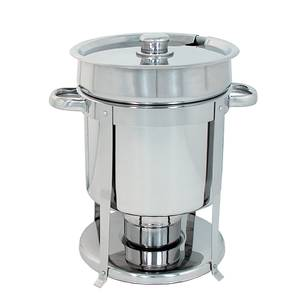 Update 7qt Stainless Steel Contemporary Soup Chafer Marmite - CM-11