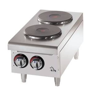 502FF Star-Max 2 French Style Burner Countertop Electric Hot Plate
