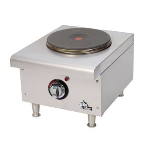 501FF Star-Max French Style Burner Countertop Electric Hot Plate