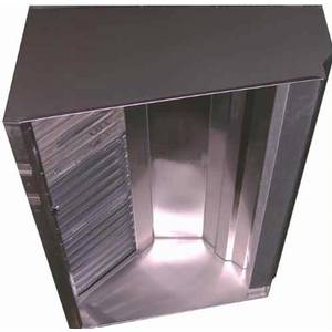 Superior Hoods QUICK SHIP 4Ft Stainless Steel Restaurant Range Grease Hood - VSSD48-4