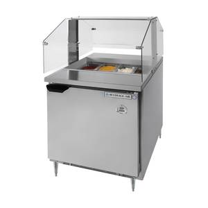Beverage-Air 7.3 Cu.Ft Refrigerated Counter & Condiment Station - SPE27-SNZ