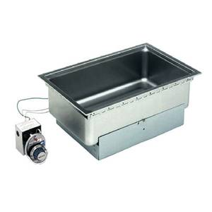 Wells SS-206TD Built-In 12 x 20 Hot Food Well w/ Thermo. Control & Drain