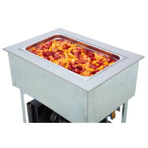 Wells Built-In Three - 12 x 20 Bay Refrigerated Cold Food Well - RCP-300