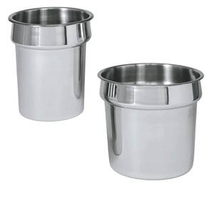 Update 2.5qt Stainless Steel Inset Pan For Steam Table - IS-25