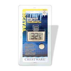 Crestware Digital Refrigerator Thermometer - TRME344