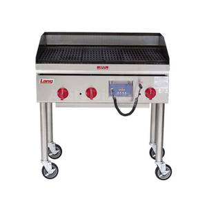 Lang 2148ZRCB ChefSeries Countertop Gas 48 Radiant Charbroiler w/ Probe