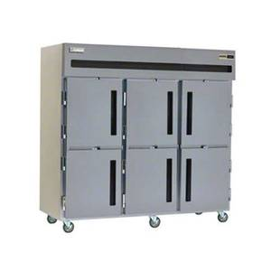 Delfield 6176XL-SH 66.5 Cu.ft Commercial Reach-In Freezer with 6 Solid Doors