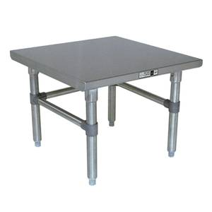 John Boos 24 x 20 Stainless Machine Stand w/ Galvanized Legs - S16MS01