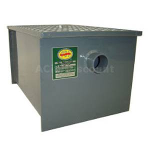 John Boos 40 lb Grease Trap Interceptor Carbon Steel PDI Certified - GT-40