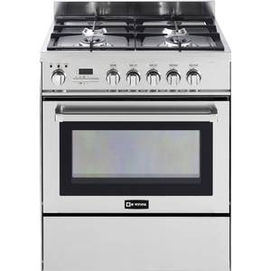 Verona 30 S/s Residential 4 Burner Gas Range w/ Convection Oven - VEFSGE304SCSS