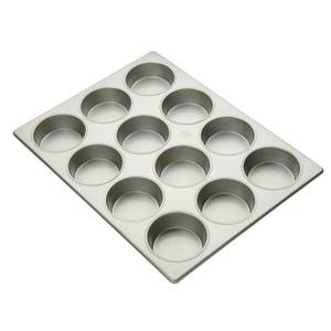 Focus Foodservice Mini Cake Pan Holds (12) 4.25in Cupcakes - 904215