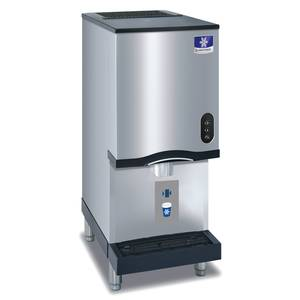 Manitowoc RNS-12AT 261lb Ice Maker Water Dispenser Touchless 12lb Bin Capacity